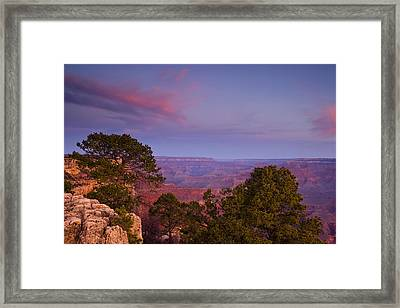 Morning In The Canyon Framed Print by Andrew Soundarajan