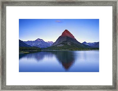 Morning In The Mountains Framed Print by Andrew Soundarajan