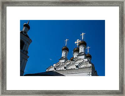 Morning In The Old City - Feature 3 Framed Print by Alexander Senin