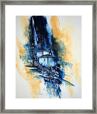 Morning Light Framed Print by Jerry Stangl