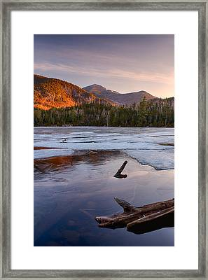 Morning Light On Whiteface Mountain Framed Print by Panoramic Images