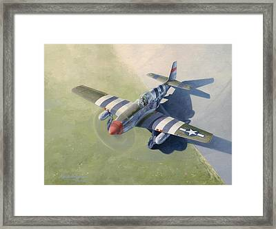Morning Mission Framed Print by Wade Meyers