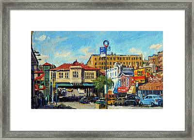 Morning On 231st Street The Bronx Framed Print by Thor Wickstrom