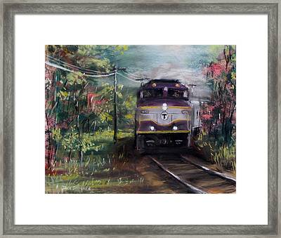 Morning Outbound Framed Print by Jack Skinner