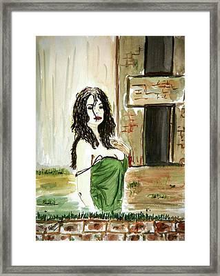 Morning Passion Framed Print by Shlomo Zangilevitch