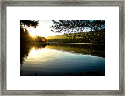 Morning Peace Framed Print by Jahred Allen