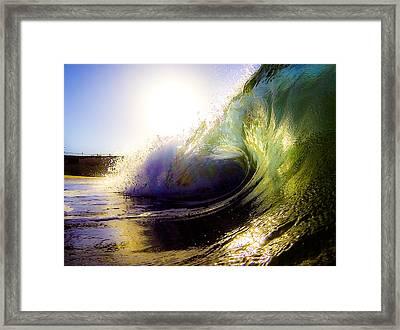 Morning Perfection Framed Print by David Alexander