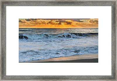 Morning Rays Framed Print by Bill  Wakeley
