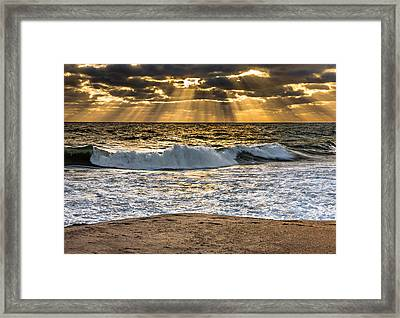 Morning Rays Framed Print by Dean Martin
