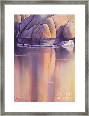 Morning Reflection Framed Print by Robert Hooper