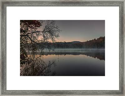 Morning Reflections In Dublin Framed Print by Chris Fletcher