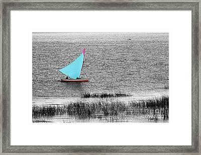 Morning Sail Framed Print by James Brunker