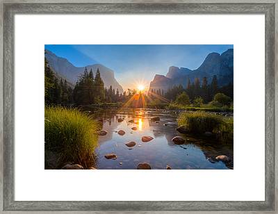 Morning Star Framed Print by Mike Lee