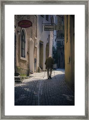 Morning Stroll Framed Print by Chris Fletcher
