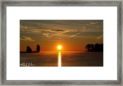 Morning Sun Framed Print by Michael Rucker