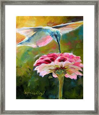 Morning Sweets Framed Print by Chris Brandley