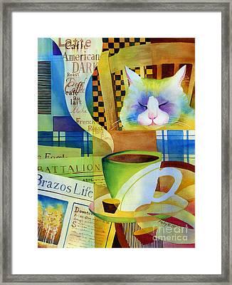 Morning Table Framed Print by Hailey E Herrera