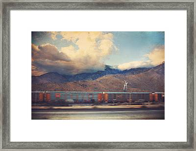 Morning Train Framed Print by Laurie Search