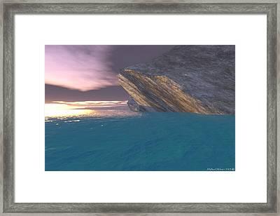 Mornings' First Light Framed Print by Michael Wimer