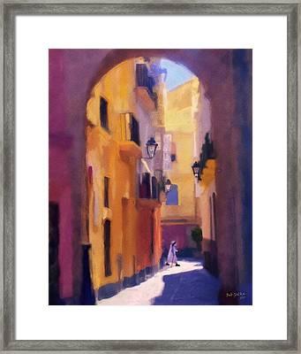 Moroccan Light Framed Print by Bob Galka
