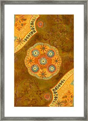 Moroccan Sunset Framed Print by Gypsy McKinna