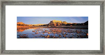 Morocco, Ait Benhaddou Framed Print by Panoramic Images