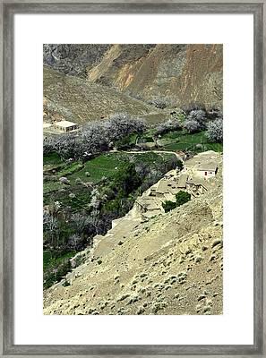 Morocco High Atlas Framed Print by Sophie Vigneault