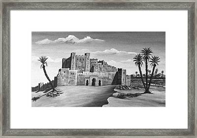 Morocco - Land Of Contrast Framed Print by Christine Till