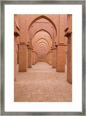 Morocco, Marrakech, Tinmal Framed Print by Emily Wilson
