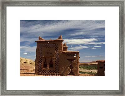 Morocco, Ouarzazate Framed Print by Kymri Wilt