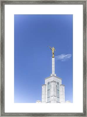 Moroni Framed Print by Tony Maduro