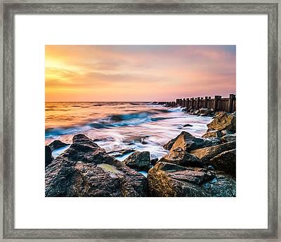 Morris Island Dream Framed Print by Steve DuPree