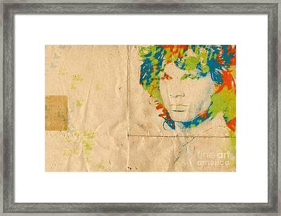 Morrison Watercolor Splash Framed Print by Paulette B Wright