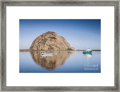 Morro Bay Calfornia Framed Print by Colin and Linda McKie