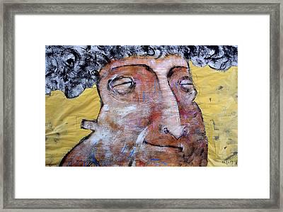 Mortalis No. 18 Framed Print by Mark M  Mellon