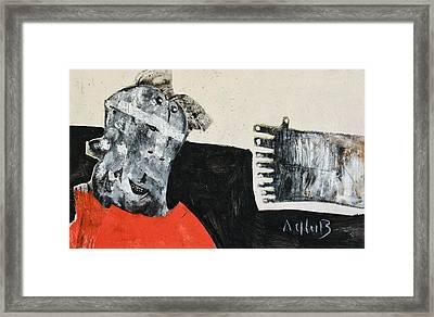 Mortalis No 19 Framed Print by Mark M  Mellon
