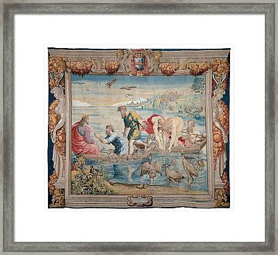 Mortlake Workmanship, Manifattura Framed Print by Everett