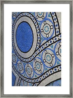 Mosaic Perspective Framed Print by Tony Rubino