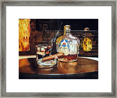 Mosaic Reflections Framed Print by Spencer Meagher