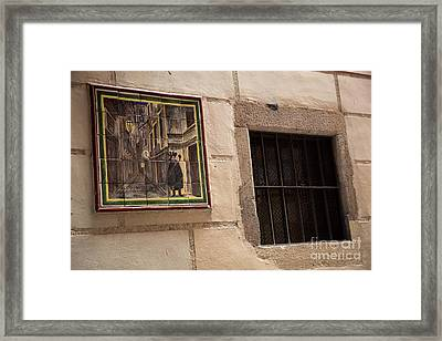 Mosaic Window Framed Print by Rene Triay Photography