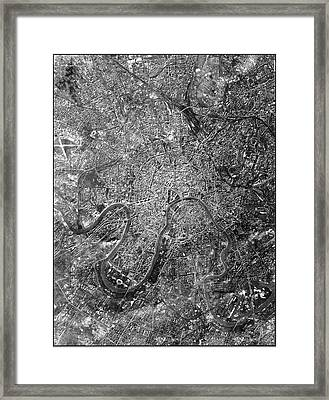 Moscow Framed Print by National Reconnaissance Office