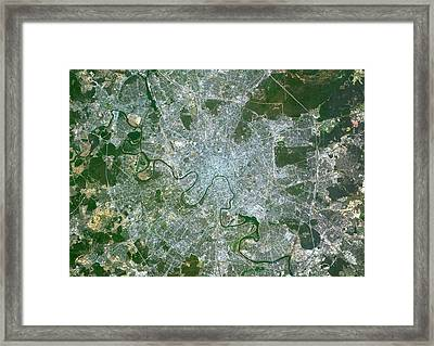 Moscow Framed Print by Planetobserver
