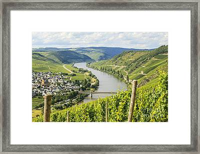 Mosel Area Framed Print by Patricia Hofmeester