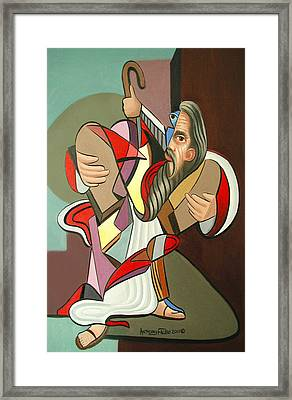 Moses Framed Print by Anthony Falbo