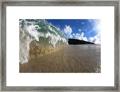 Moses Wave Framed Print by Sean Davey