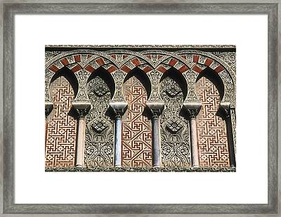 Mosque Cathedral Of Cordoba. S.x-16th Framed Print by Everett