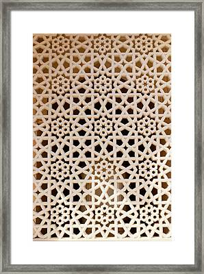 Mosque Screen Framed Print by Mark Williamson