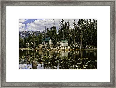 Mosquito Lake Framed Print by Mitch Shindelbower