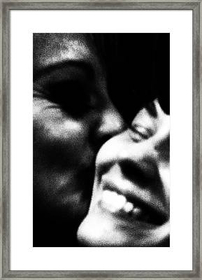 Mother And Child Framed Print by Ben Aronoff
