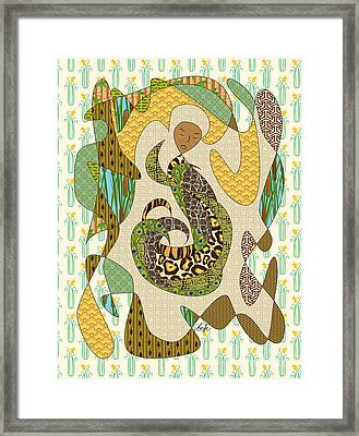Mother Earth Framed Print by Beverly Claire Kaiya